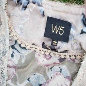 W5 Anthropologie cardigan
